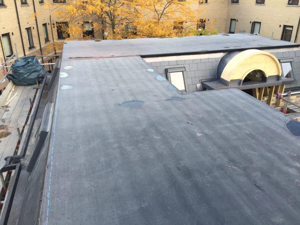 Gwydir Street EPDM Rubberbond Flat Roof